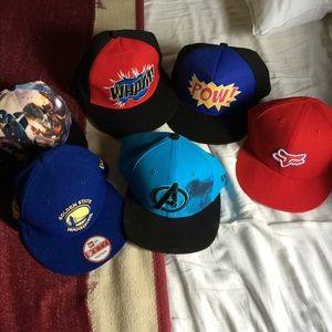 New Era Marvel SnapBack Caps Golden State Warriors